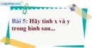 Bài 5 trang 86 Vở bài tập toán 9 tập 1