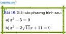 Bài 10 trang 12 Vở bài tập toán 9 tập 1
