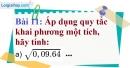 Bài 11 trang 13 Vở bài tập toán 9 tập 1