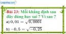 Bài 23 trang 24 Vở bài tập toán 9 tập 1