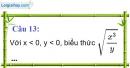 Phần câu hỏi bài 7 trang 31 Vở bài tập toán 9 tập 1