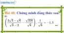 Bài 48 trang 46 Vở bài tập toán 9 tập 1