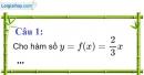 Phần câu hỏi bài 1 trang 51, 52 Vở bài tập toán 9 tập 1