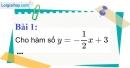 Bài 1 trang 52 Vở bài tập toán 9 tập 1