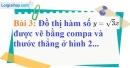 Bài 3 trang 53 Vở bài tập toán 9 tập 1