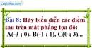 Bài 8 trang 56 Vở bài tập toán 9 tập 1