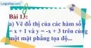 Bài 13 trang 61 Vở bài tập toán 9 tập 1
