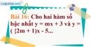Bài 16 trang 66 Vở bài tập toán 9 tập 1