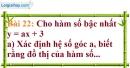 Bài 22 trang 71 Vở bài tập toán 9 tập 1