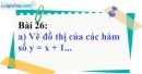 Bài 26 trang 74 Vở bài tập toán 9 tập 1