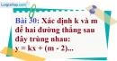Bài 30 trang 76 Vở bài tập toán 9 tập 1