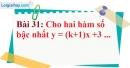 Bài 31 trang 77 Vở bài tập toán 9 tập 1