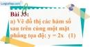 Bài 33 trang 79 Vở bài tập toán 9 tập 1