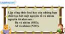 Câu 10.7, 10.8   phần bài tập trong sách bài tập – Trang 34 Vở bài tập hoá 8