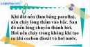 Câu 3 phần bài tập học theo SGK – Trang 41 Vở bài tập hoá 8