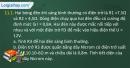 Câu 11.1, 11.2, 11.3, 11.4 phần bài tập trong SBT – Trang 35,36 Vở bài tập Vật lí 9