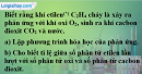 Câu 4 phần bài tập học theo SGK – Trang 56 Vở bài tập hoá 8
