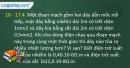 Câu 16 - 17.4, 16 - 17.5, 16 - 17.6  phần bài tập trong SBT – Trang 51 Vở bài tập Vật lí 9