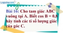 Bài 16 trang 92 Vở bài tập toán 9 tập 1