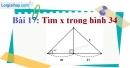 Bài 17 trang 92 Vở bài tập toán 9 tập 1