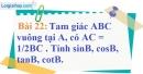 Bài 22 trang 95 Vở bài tập toán 9 tập 1