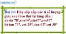 Bài 24 trang 96 Vở bài tập toán 9 tập 1