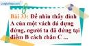 Bài 33 trang 101 Vở bài tập toán 9 tập 1