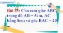 Bài 35 trang 102 Vở bài tập toán 9 tập 1