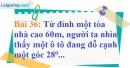 Bài 36 trang 102 Vở bài tập toán 9 tập 1