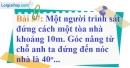 Bài 37 trang 103 Vở bài tập toán 9 tập 1