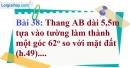 Bài 38 trang 103 Vở bài tập toán 9 tập 1