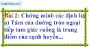 Bài 2 trang 111 Vở bài tập toán 9 tập 1
