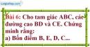 Bài 6 trang 114 Vở bài tập toán 9 tập 1