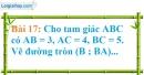 Bài 17 trang 122 Vở bài tập toán 9 tập 1
