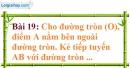 Bài 19 trang 123 Vở bài tập toán 9 tập 1