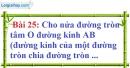 Bài 25 trang 129 Vở bài tập toán 9 tập 1
