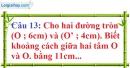 Phần câu hỏi bài 7 trang 132, 133 Vở bài tập toán 9 tập 1