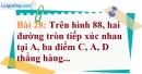 Bài 28 trang 133 Vở bài tập toán 9 tập 1