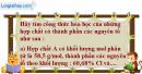 Câu 2 phần bài tập học theo SGK – Trang 73 Vở bài tập hoá 8