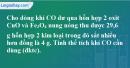 Câu 23.7*  phần bài tập trong sách bài tập – Trang 85 Vở bài tập hoá 8