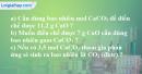 Câu 3 phần bài tập học theo SGK – Trang 79 Vở bài tập hoá 8