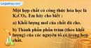 Câu 3 phần bài tập học theo SGK – Trang 84 Vở bài tập hoá 8