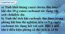 Câu 4 phần bài tập học theo SGK – Trang 84 Vở bài tập hoá 8