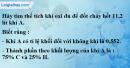 Câu 5* phần bài tập học theo SGK – Trang 79 Vở bài tập hoá 8