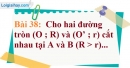 Bài 38 trang 141 Vở bài tập toán 9 tập 1