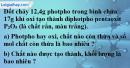 Câu 4 phần bài tập học theo SGK – Trang 90 Vở bài tập hoá 8