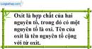 Câu 1 phần bài tập học theo SGK – Trang 96 Vở bài tập hoá 8