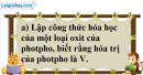 Câu 2 phần bài tập học theo SGK – Trang 96 Vở bài tập hoá 8