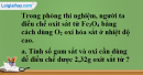 Câu 6 phần bài tập học theo SGK – Trang 100 Vở bài tập hoá 8
