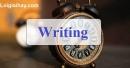Writing - Trang 36 Unit 4 VBT Tiếng Anh 9 mới
